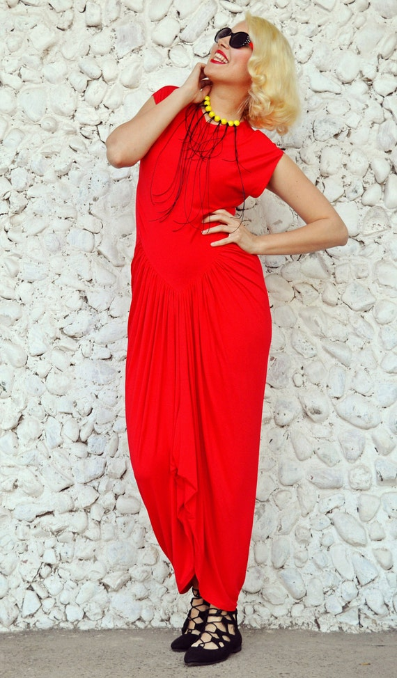 Plus Size Dress Dress Extravagant TDK181 Sleeveless Maxi Dress Dress Red Maxi Long Maxi Red Dress Summer Red HOpqff