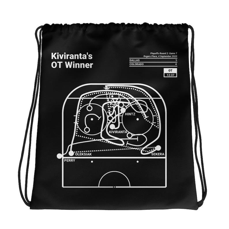 Greatest Stars Plays Drawstring Bag Kiviranta/'s OT Winner 2020