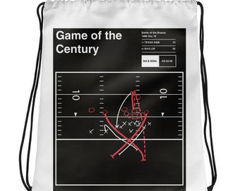 Texas A&M Football Drawstring Bag: Game of the Century (1986)