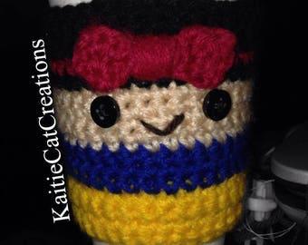 Snow White Crochet Disney Cup Cozies