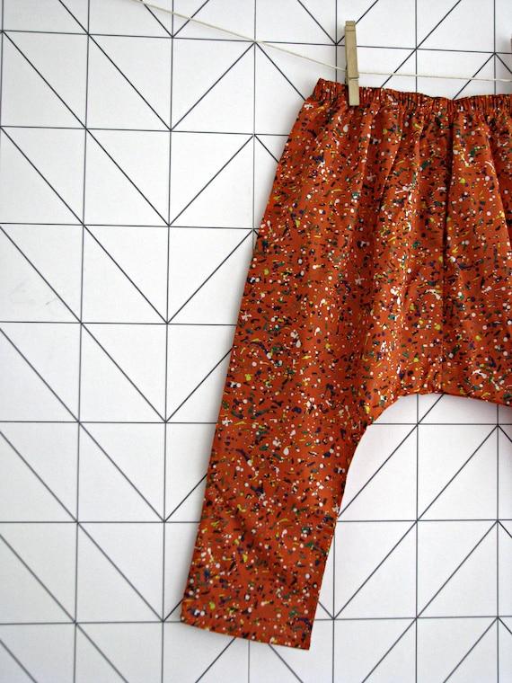 sarouel for babies and toddlers Liberty Gilliam harem pants