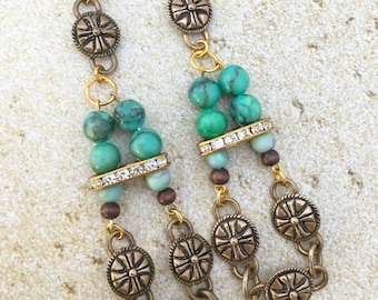 Handmade Medieval Tribal Earrings, Warrior, Goddess, Festival, Coachella, Sexy, Unique, Fantasy, Dragon, GOT (Blade Beauty Earrings SET 2)