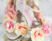 Always the Bridesmaid... Hand made wedding shoes