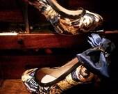 Wibbly wobbly timey wimey; Doctor Who exploding TARDIS heels