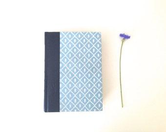 Vintage 1984 Book - Pastel Blue Flower Motif - Desk Decor