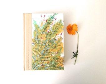 Vintage 1963 Book - Floral Motif - Desk Decor