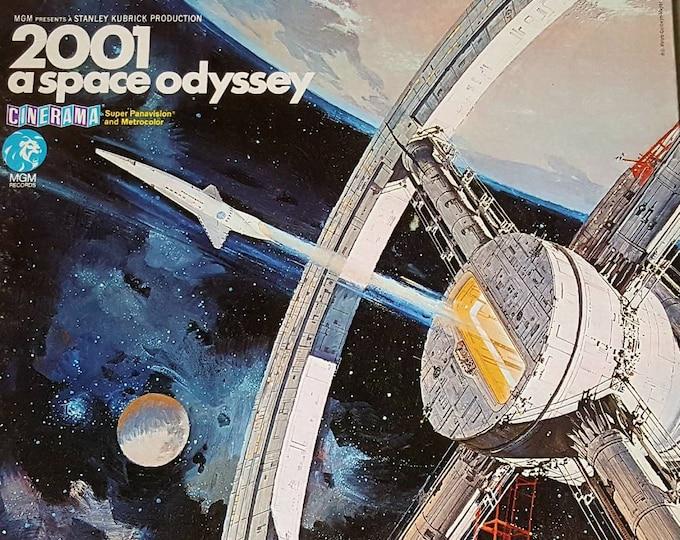 Vintage Record, Vinyl LP, Original Movie Sountrack, 2001 A Space Odyssey! Good Used Vintage Condition. S1E-13 ST X.
