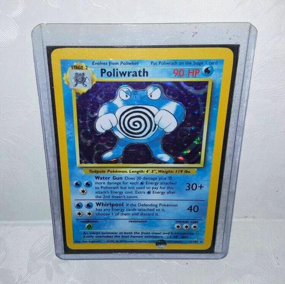 "Poliwrath RARE POKEMON Action Figure 2/"""