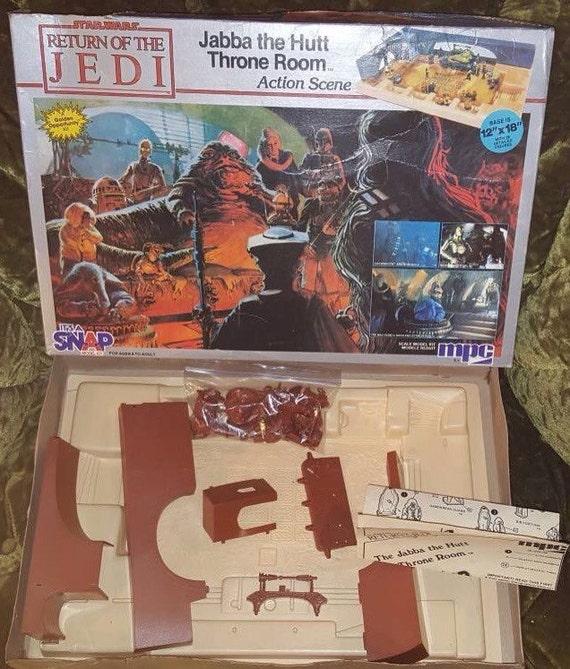 Star Wars Vintage Kenner Sac en plastique boîte livret le retour du jedi l/'empereur Action Figure