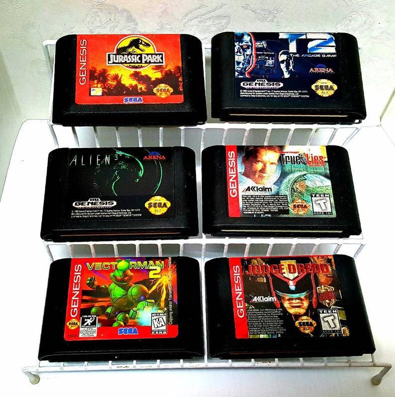 SEGA GENESIS Video Games, You Choose! Pick from Variations List, Mix, &  Match! Vintage Video Games, Retro Gaming, Original Game Cartridges