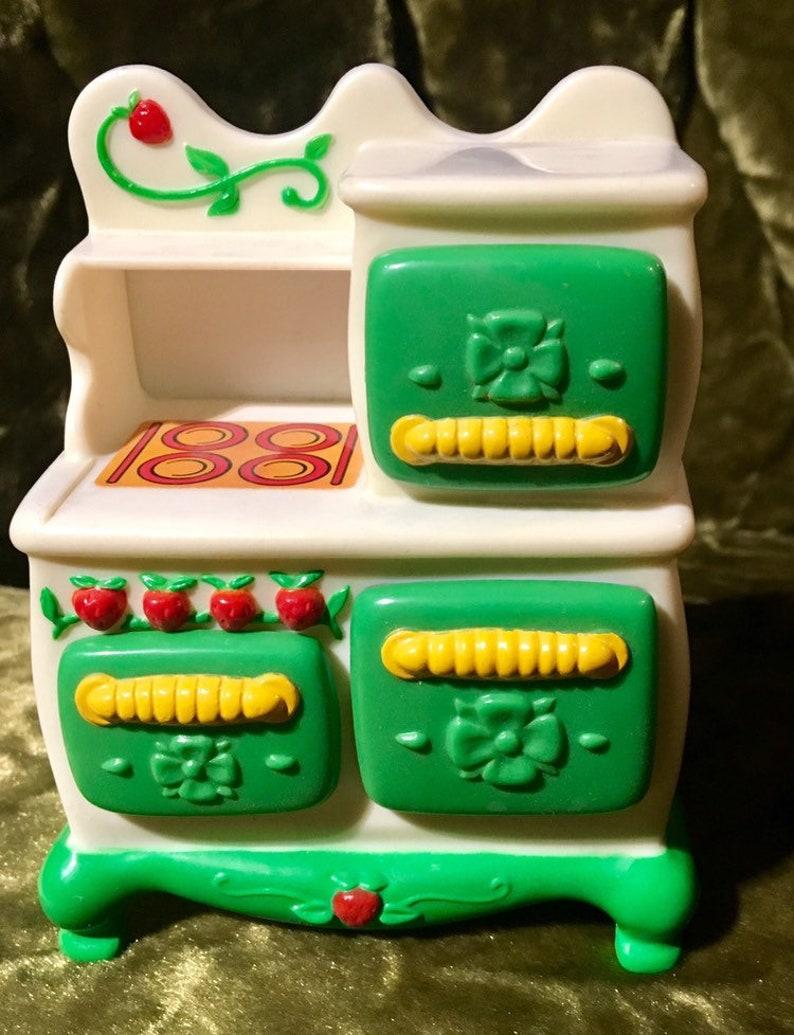 Strawberry Shortcake Kitchen Stove Oven For Dollhouse 1983 Etsy