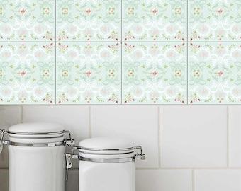 Waterproof Tile Stickers Backsplash Stickers Decorative Etsy