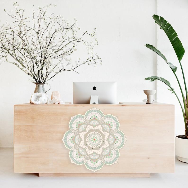 Furniture Sticker Furniture Decal Yoga Studio Design Yoga Etsy
