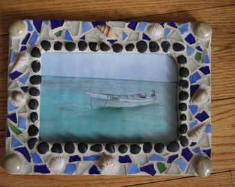 Mosaic Frame  ( Smaller Beach Frame)