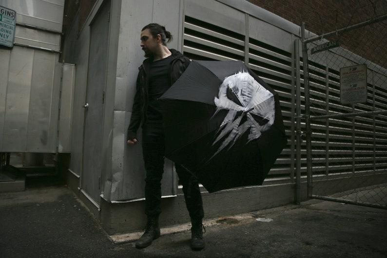 Punish Painted Umbrella image 0