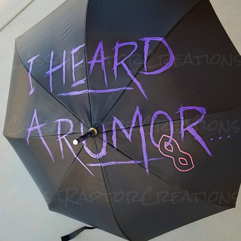 Rumors Painted Umbrella Academy or Parasol image 0