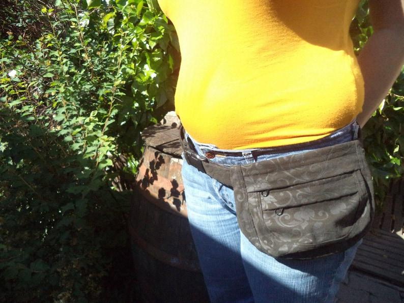 Canvas fanny pack,hip bag,belt bag