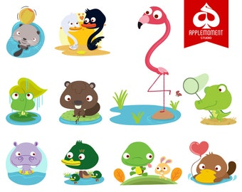 Animals Version Two Digital Clipart for Personal and Commercial Use