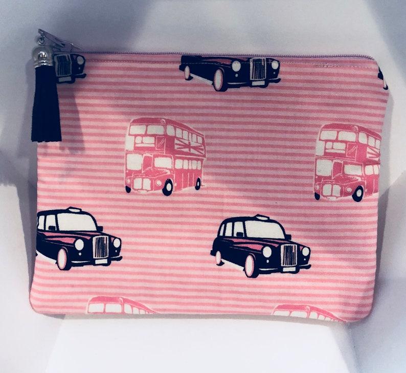 Car and  bus zipper pouch