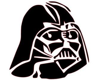 SVG File of Darth Vadar from Star Wars