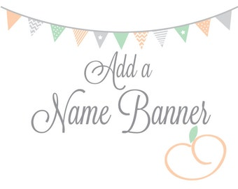 Add a Name Banner