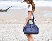 vegan crossbody bag, vegan leather bag, vegan handbag, anniversary gift for wife - the WYTHE doctor bag purse