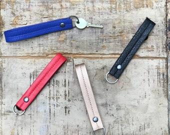 keychain wristlet, keychain bracelet, key fob - the BRYANT (5 COLORS)