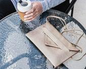 cell phone crossbody, wallet clutch, cell phone wallet wristlet, travel wallet - the LAFAYETTE vegan clutch