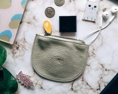 small wallets for women, small zipper pouch, jewelry pouch, change purse, small coin purse - the CONEY pouch in 5 colors