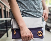 we made too many! 50% off vegan clutches and purses, unique gifts for sisters and friends - the CARROLL vegan purse