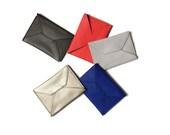 front pocket wallet, envelope wallet, vegan leather wallet, slim wallet, thin wallet - the SMITH business card holder
