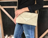 evening clutch, cell phone crossbody, vegan purse- the LAFAYETTE 3-in-1 wallet, clutch, and crossbody