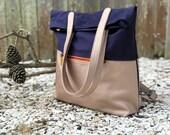 backpack purse, canvas backpack, laptop backpack - GREENPOINT work backpack