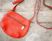 small crossbody purse, vegan purse, small messenger bag - the WILLOUGHBY crossbody in 5 colors