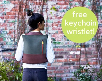 convertible crossbody backpack, hands free travel bag & eco-friendly canvas bag - the 3 in 1 ROCKAWAY tote + backpack + crossbody