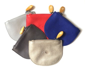 small women's wallet, friendship gift, best friend gift - the CONEY (5 colors)