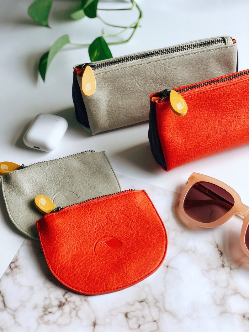 Coin Pouch Makeup Bag Gift Set On Sale Vegan For Her