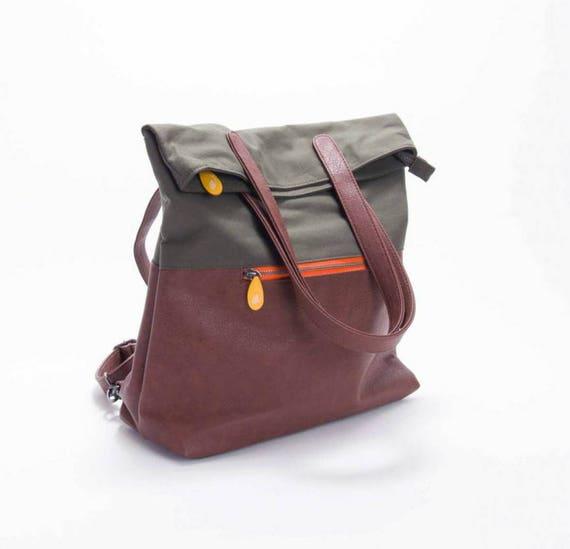 e7cbdc3e89e4 vegan leather backpack diaper bag backpack new mom gift