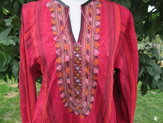 Bedouin Afghan  dress  , hippie , goa , gipsy ,Mid