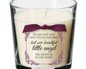 Baby remembrance candle p...