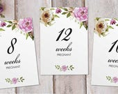Pregnancy Milestones Card...