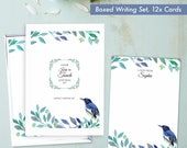 Emigrating gifts present leaving moving away emigrate pen pal gift personalised stationery writing set BDSS_02