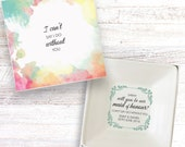 Will you be my maid of honour present personalised gift dish jewellery trinket box keepsake DH_02