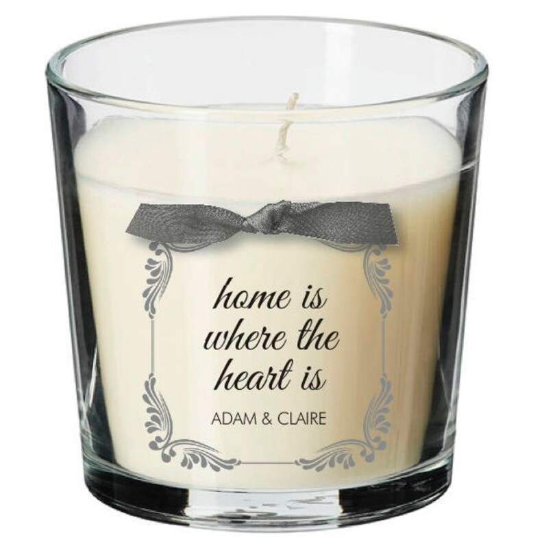 Home Personalised present table centrepiece house dinner party image 0
