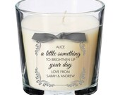 Brighten up day present personalised candle key worker coronavirus thoughtful gift