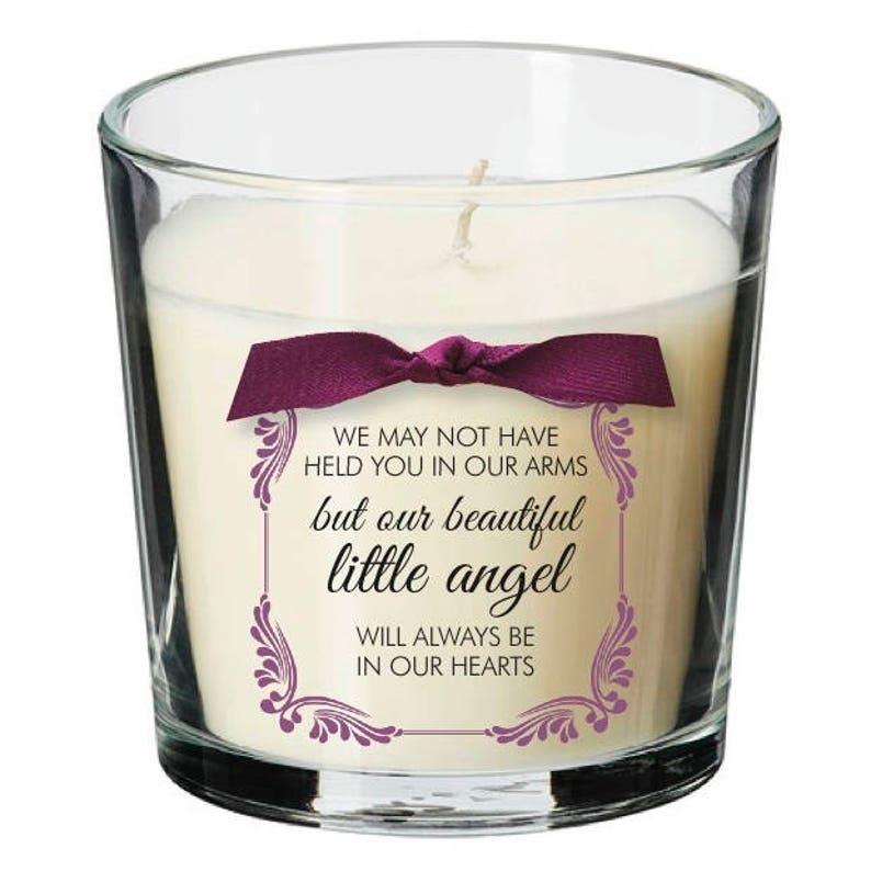 Baby remembrance candle angel loss memorial miscarriage image 0