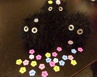 Soot Sprite Studio Ghibli Inspired Crochet Juggling Balls