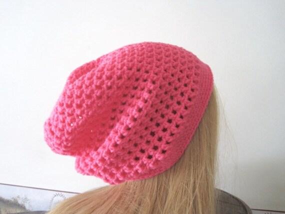 Chapeau de printemps pour les femmes, Boho léger Tuque chaude du rose, ADO  fille printemps Tuque ... 74a6cda9472