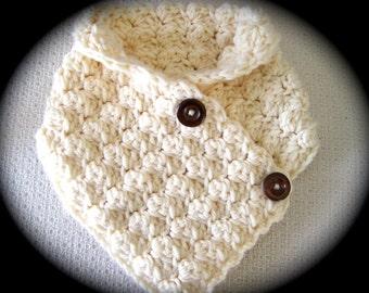 Crochet Scarf Pattern, Chunky Crochet Cowl Pattern Neck warmer