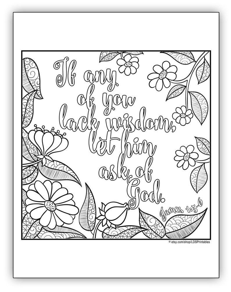2017 Mutual Theme Coloring Page 8.5x11  Square image 0